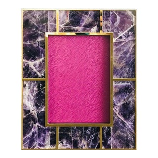 Amethyst Photo Frame For Sale