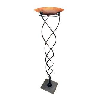 Sergio Terzani Neo-Classic Torchiere Style Floor Lamp