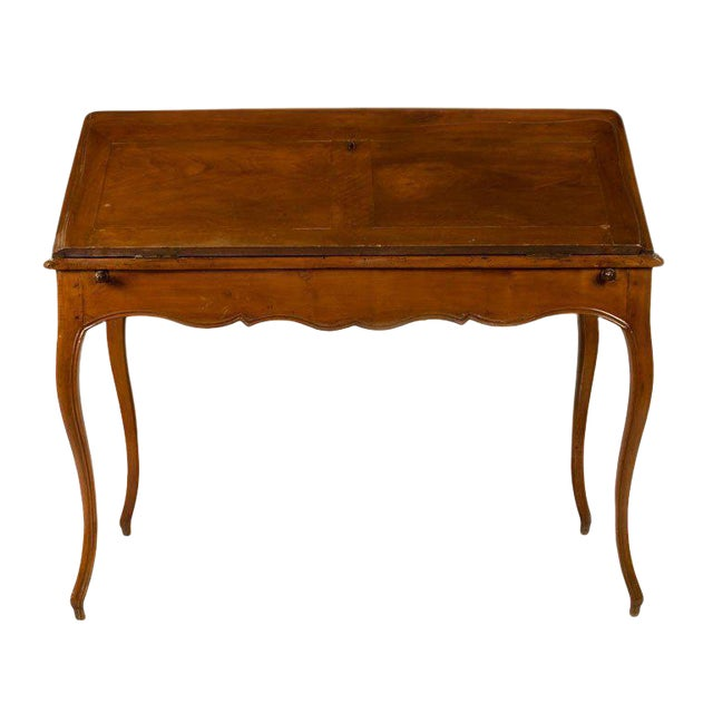 Circa 1825 French Slant Front Writing Desk For Sale