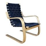 Image of 1960s Vintage Artek Alvar Aalto Model 406 Armchair For Sale