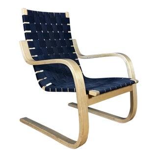 1960s Vintage Artek Alvar Aalto Model 406 Armchair For Sale