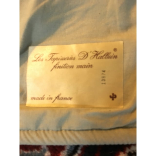 Vintage Point De Loiselles French Wall Tapestry - Image 5 of 7