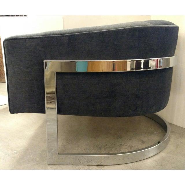 Vintage Milo Baughman Chairs - Pair - Image 7 of 7
