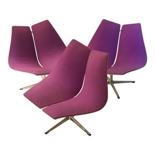 Mid Century Modern Iconic Ebena LaSalle Chairs - Set of 3 For Sale