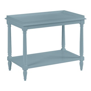 Casa Cosima Revere Side Table, Chiswell Blue For Sale