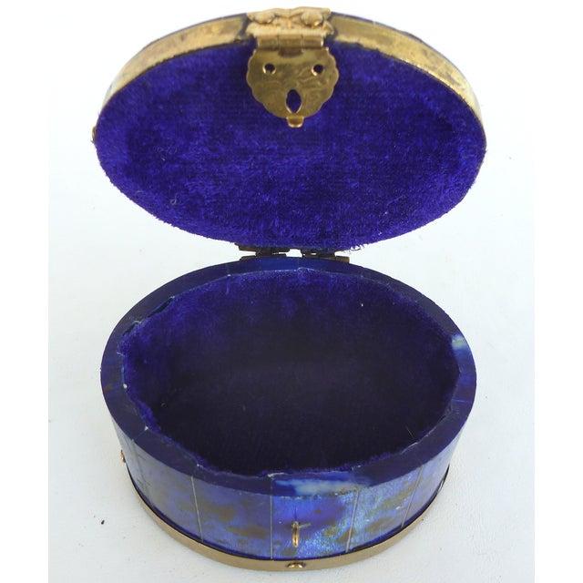 Lapis Hue Trinket Box - Image 6 of 6