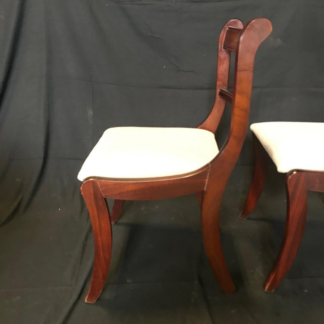 Early 19th Century Regency Dining Chairs- Set of 4 For Sale - Image 12 of 13
