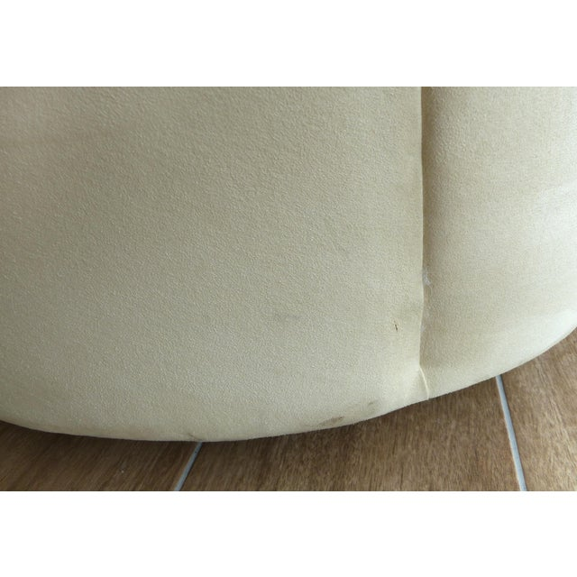 Nautilus Chair & Ottoman by Vladimir Kagan for Directional-Set of 2 For Sale - Image 11 of 13