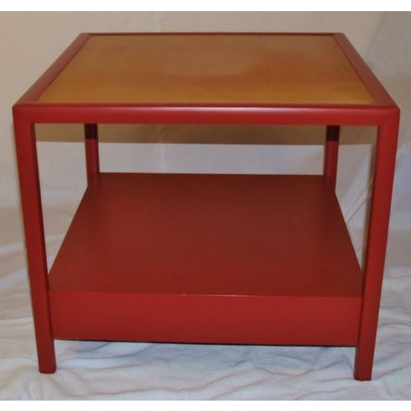 Asian Michael Taylor for Baker Side Tables - a Pair For Sale - Image 3 of 8