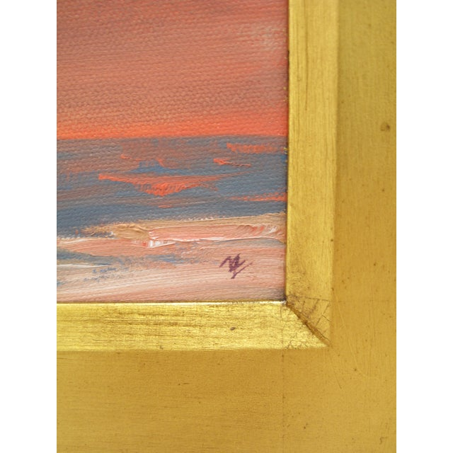 """Michael Ome Untiedt """"View of Canyon and Plains"""" Painting For Sale - Image 4 of 6"""