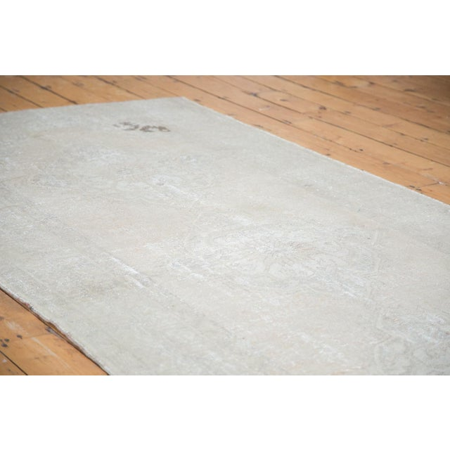 "Distressed Oushak Runner - 4'7"" X 10'8"" - Image 4 of 9"