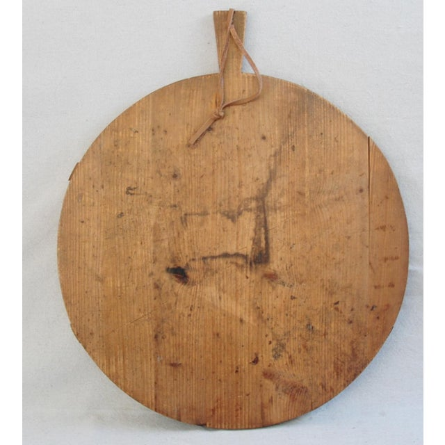 Round French Harvest Bread Cheese Board - Image 5 of 9