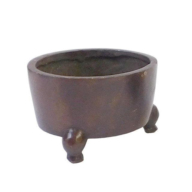 Chinese Bronze Metal Incense Burner - Image 3 of 4