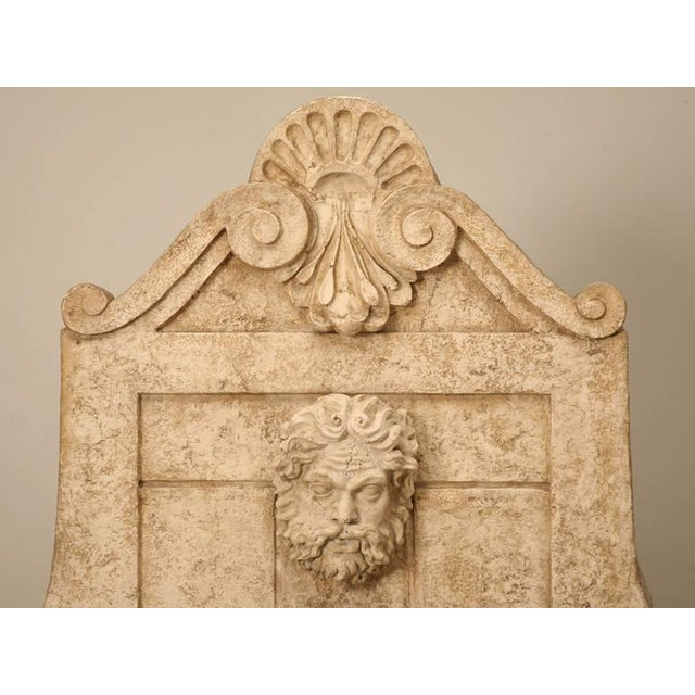 Reproduction 18th century French style fountain imported from England during the 1990s. This is a functional fountain made...