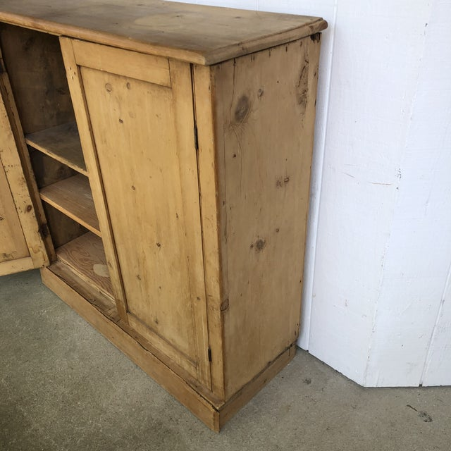 19th Century English Pine Cabinet For Sale - Image 4 of 12