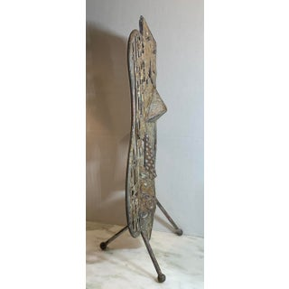 Vintage Mid-Century Modern Metallic Sculpture Preview