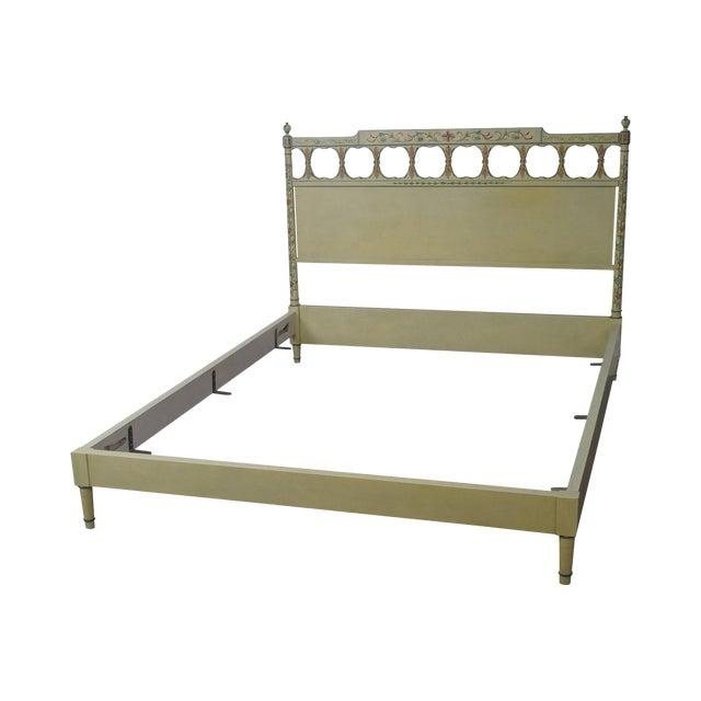 Widdicomb Mid-Century Venetian Style Queen Bed - Image 1 of 10