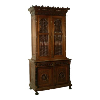 Moroccan Style Cupboard, Germany Ca. 1910 For Sale