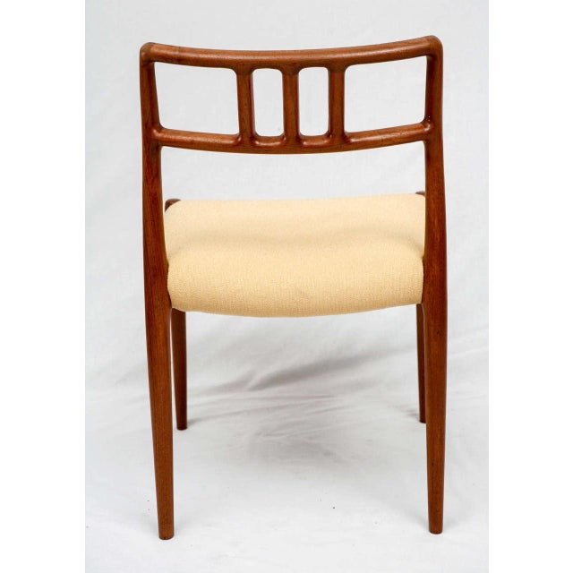 Tan Set of 4 Niels Moller Dining Chairs For Sale - Image 8 of 9