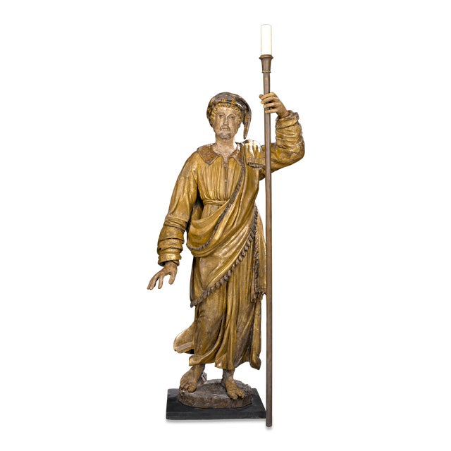 17th-Century Venetian Figural Torchères - Image 6 of 9