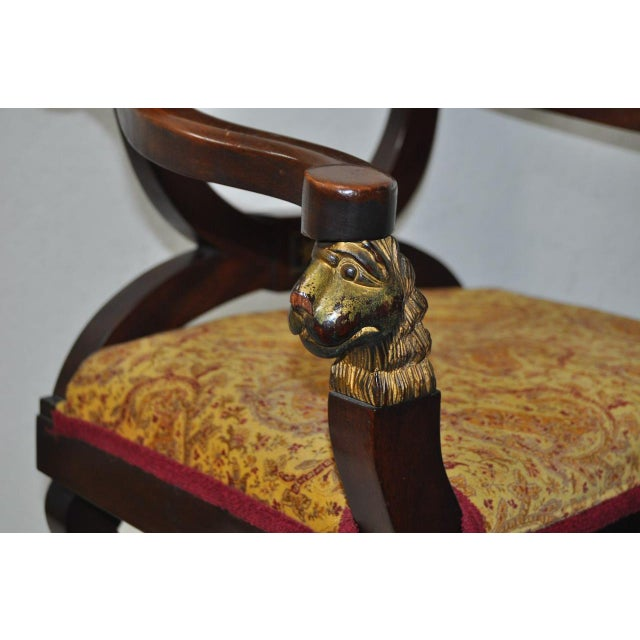 18th C. French Carved & Gilded Chair - Image 5 of 10