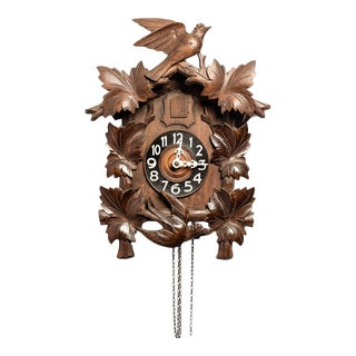 Antique Black Forest Cuckoo Clock For Sale