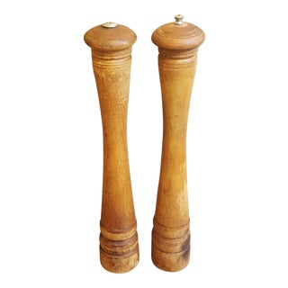 Mid-Century Modern Verity Southall Salt Shaker and Pepper Mill
