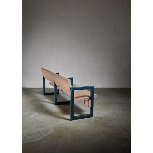 Mid-Century Modern Gerrit Rietveld Church Pew For Sale - Image 3 of 5