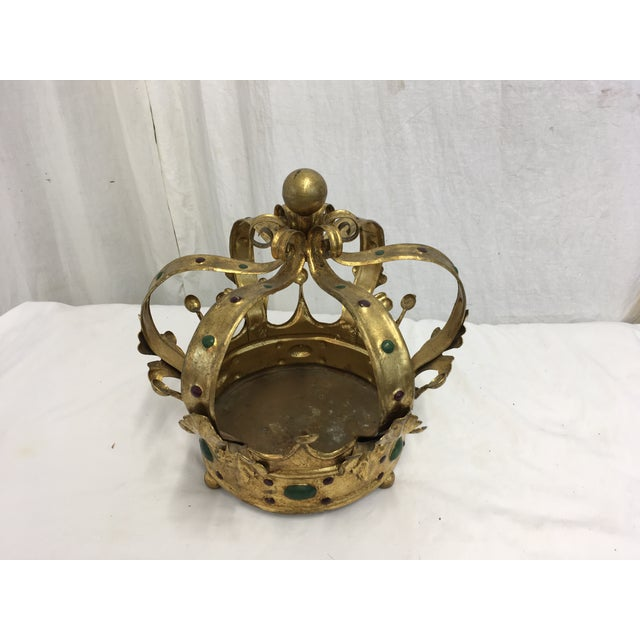 Florentine Gilt Metal Crown - Image 3 of 7
