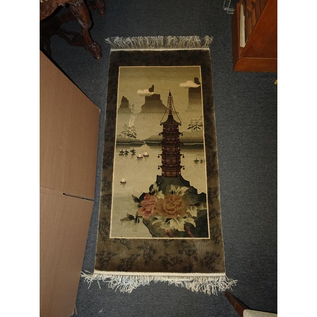 Gorgeous Wall Hanging in Great Vintage Condition. Wear is usual for its age. Please see photos. Overall a Gorgeous Wall...