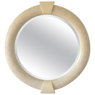 Postmodern Tessellated Wall Mirror For Sale