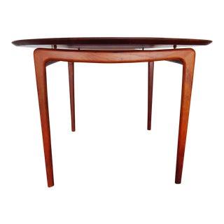 Vintage Peter Hvidt and Orla Mølgaard-Nielsen for John Stewart Danish Modern Teak Dining Table For Sale