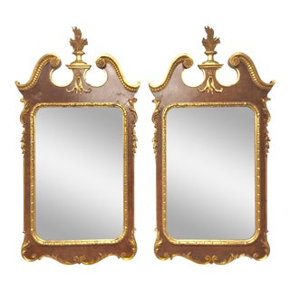 Pair of George Ll Giltwood Mirrors