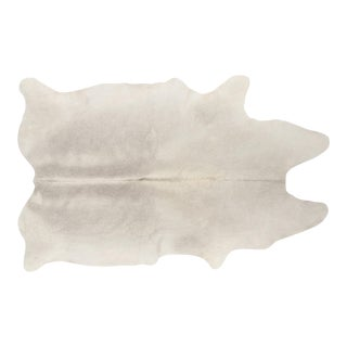 Genuine Brazilian Cowhide, Silver