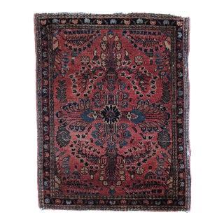 "1920 Persian Sarouk 1'11"" X 2'5"" For Sale"