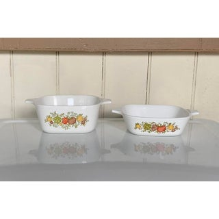 Pair of 1970s Vegetable Baking Casserole Dishes, Retro Design Preview