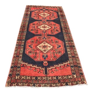 "1950s Traditional Ardabil Wool Rug - 5'3""x7'10"""