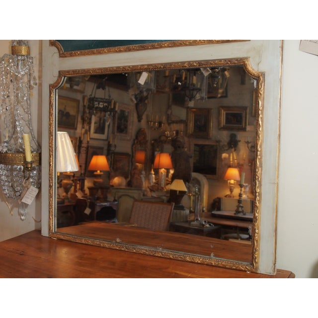 19th Century French Trumeau Mirror - Image 7 of 8