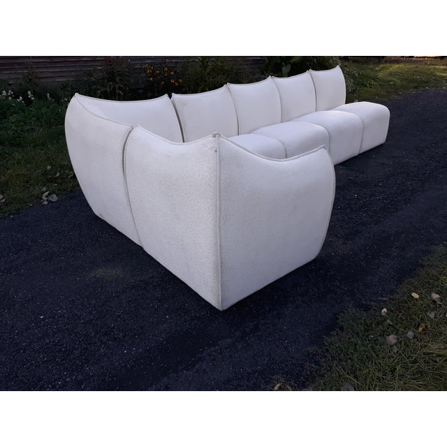 """This is a 1960's 6 piece sofa that is unlabeled but i can only assume it is Mario Bellini's """" Le Bambole"""" for B and B..."""