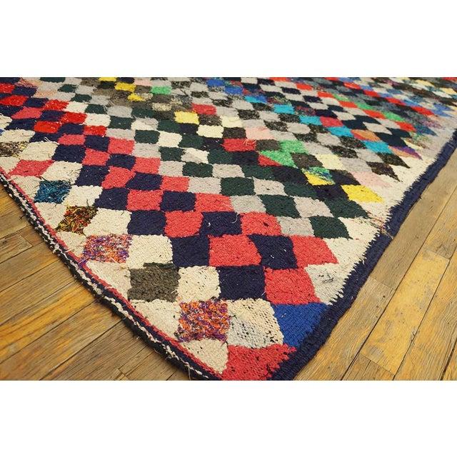 Islamic Vintage Persian Handmade Kilim Rug - 4′8″ × 9′3″ For Sale - Image 3 of 5