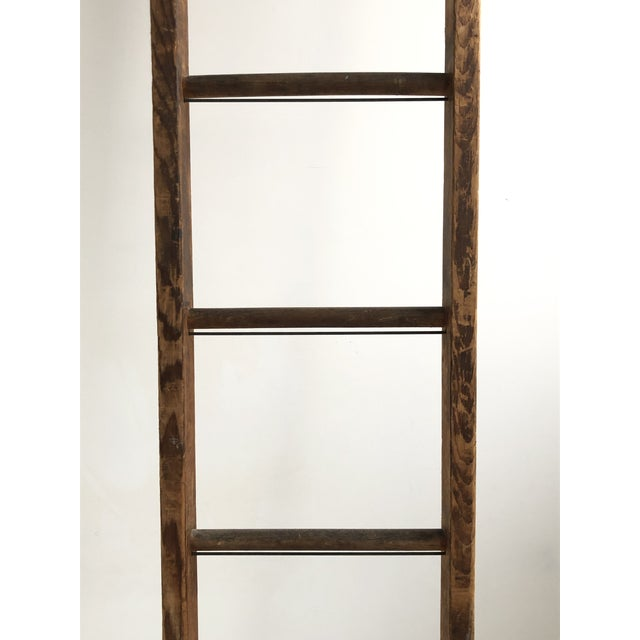 Vintage Mid-Century Working Ladder For Sale In New York - Image 6 of 9