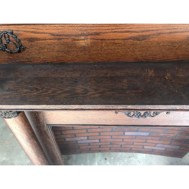 Early 20th Century Fireplace Surround Mantel For Sale - Image 9 of 13