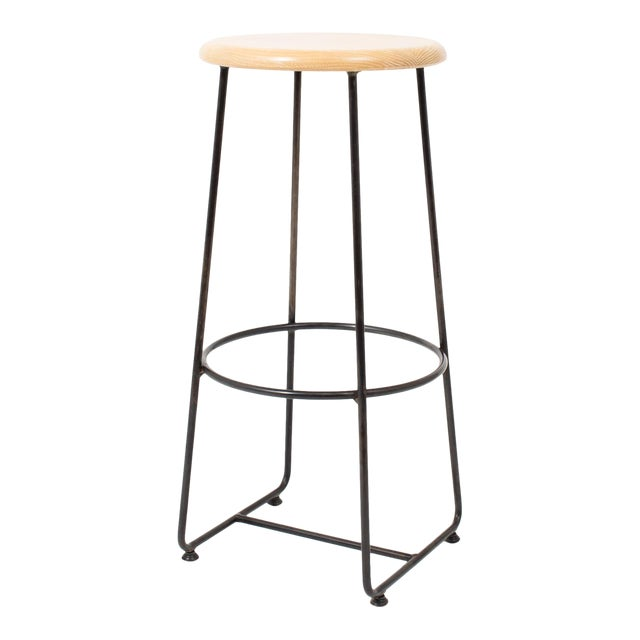 Steven Bukowski Contemporary Altro Bar Stool For Sale