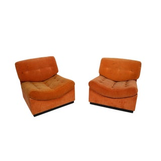 Mogens Kold Mid-Century Modern Danish Modern Lounge Cubus Chairs - a Pair For Sale