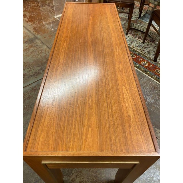 Wood Mid-Century Modern Console Table For Sale - Image 7 of 12
