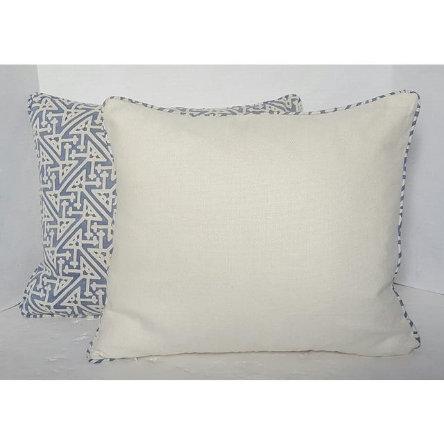 Fortuny Periwinkle Pillows - Pair - Image 3 of 3