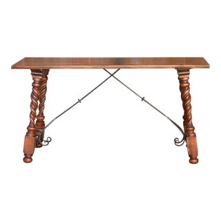 Indo-Portuguese Writing Desk For Sale