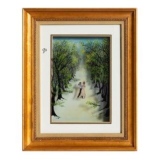 "Jean-Pierre Weill, ""Promenade"", Figurative 3d Silkscreen For Sale"