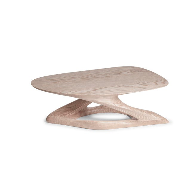 Amorph Plie´ Coffee Table, Natural Stained For Sale - Image 10 of 10