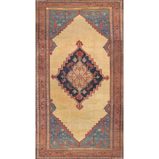 "Pasargad Antique Bakhshayesh Rug- 11'1"" X 20'6"" - Image 1 of 3"